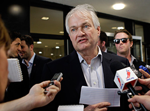 NHLPA boss Donald Fehr has kept a low profile during the most recent round of talks.