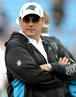 Panthers head coach Ron Rivera has two years remaining on a four-year contract.