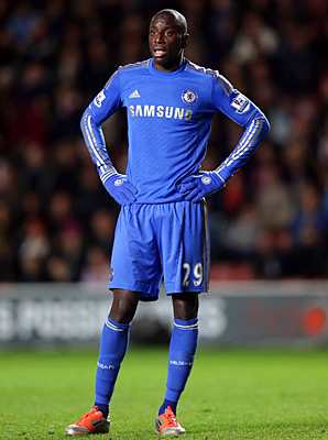 Demba Ba found the net twice in Chelsea's victory over Southampton.