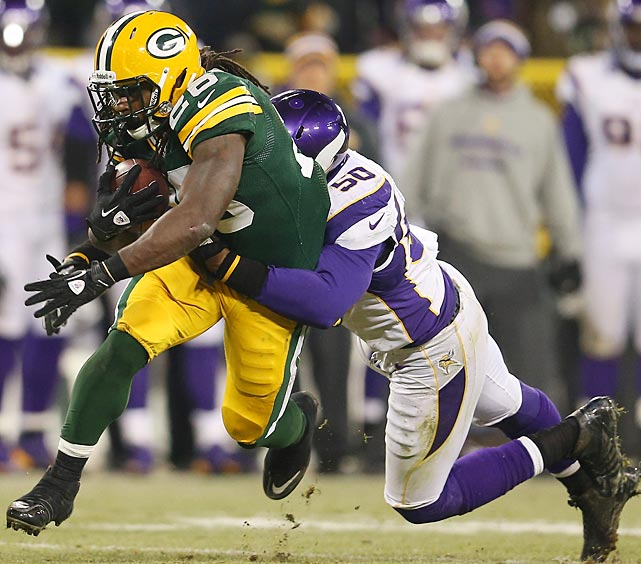 The Packers leading rusher was DuJuan Harris with 47 yards on 17 carries and one touchdown.