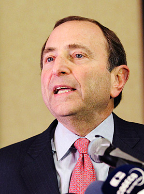 Commissioner Gary Bettman and the NHL reached a deal early Sunday morning with the players union.
