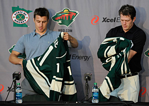 Thirteen-year mega-contracts of the kind signed last summer by Zach Parise and Ryan Suter are now things of the past.