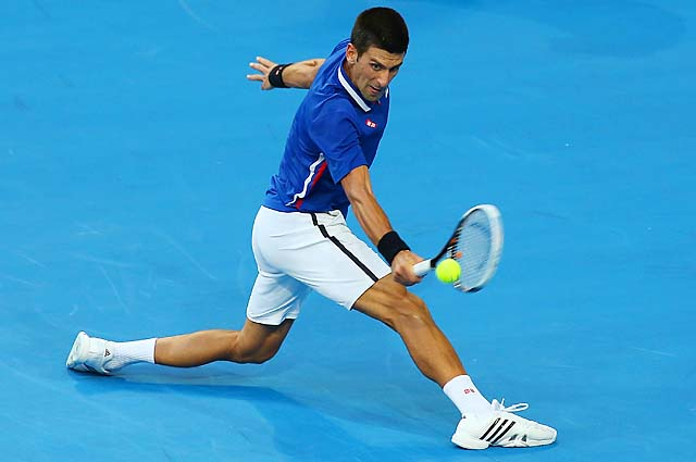 Novak Djokovic will be aiming for his third straight Australian Open title.