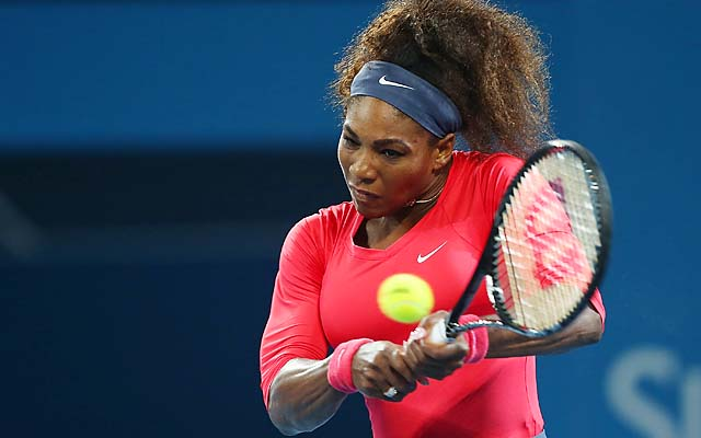Serena Williams picked up where she left off in 2012, winning Brisbane without dropping a set.