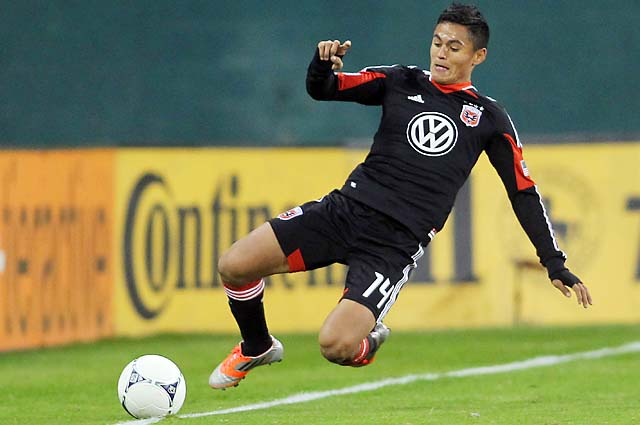 Andy Najar has been with D.C. United since 2010.