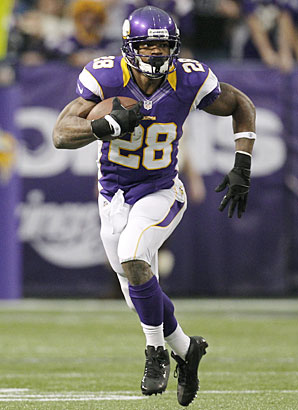 Even if an other 2,000-yard season isn't in store, Adrian Peterson is likely to be selected at the top of most fantasy drafts in 2013.