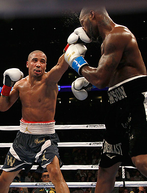 Andre Ward (left) defeated Chad Dawson in September to retain the WBA, WBC and The Ring Super Middleweight titles.