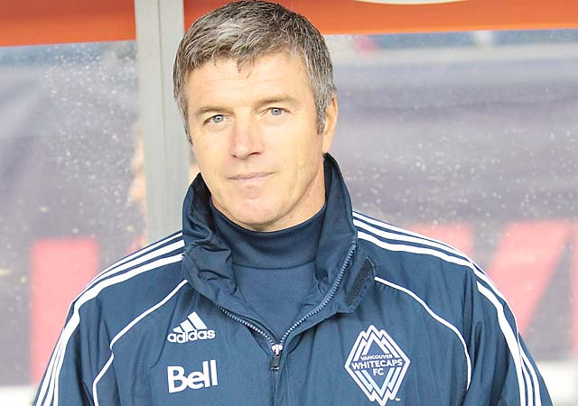 Colin Miller was a Vancouver Whitecaps assistant coach in 2010 and 2011.