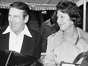 Etty Allen, shown here in 1978 with husband George, was the mother of current Redskins GM Bruce Allen.
