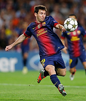 Lionel Messi scored a record 91 goals, topping Gerd Mueller's mark of 85 for Bayern Munich and Germany in 1972.
