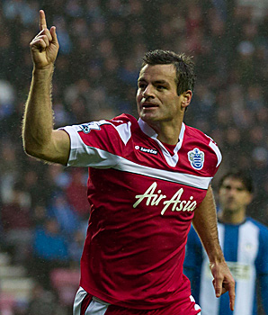 Ryan Nelsen has played in 19 games for Queens Park Rangers in the Premier League this season.