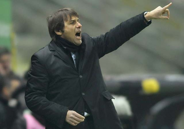 Antonio Conte coached Bari in the second half of the 2007-08 season and in 2008-09.