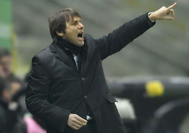 Antonio Conte coached Bari in the second half of the 2007-08 season and in 2008-09.
