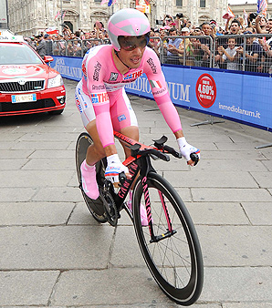 Joaquin Rodriguez finished second behind Ryder Hesjedal in the 2012 Giro d'Italia.
