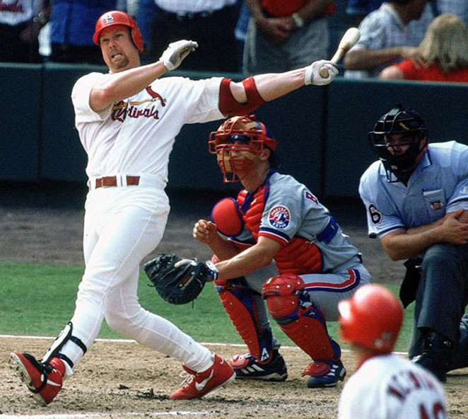 Even Mark McGwire knows he's a longshot for the Hall of Fame, despite his prodigious home run totals.