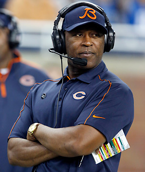 Lovie Smith's Bears had just one playoff appearance in six years after making the Super Bowl.