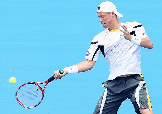 Australian Lleyton Hewitt, 31, is preparing for his 17th Australian Open.