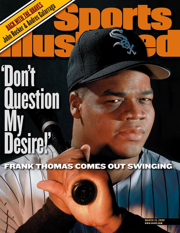 A lifetime .301 hitter and one of the few recent players to join the 500 home run club without any suspicions of steroid use -- Frank Thomas was the only active player to agree to an interview with George Mitchell -- the Big Hurt will surely find himself enshrined.