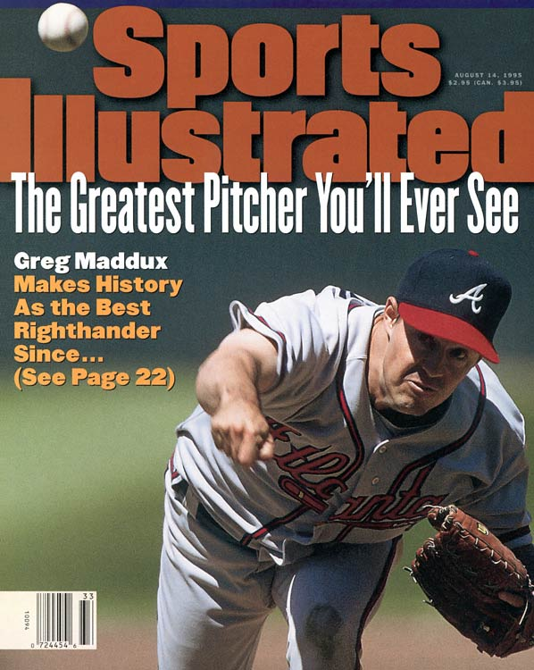 The Professor, Greg Maddux's control and placement were unmatched. His 355 wins, 3.16 ERA, 3,371 strikeouts and four Cy Young Awards make the former Cubs and Braves ace a guarantee for the Hall of Fame.
