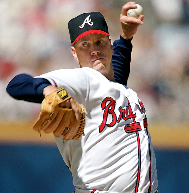 A member of the 300-win club, Tom Glavine took home the Cy Young Award in 1991 and 1998. Glavine's 1991 season was truly dominant, marked by 20 wins, a 2.55 ERA, nine complete games and a 1.095 WHIP.