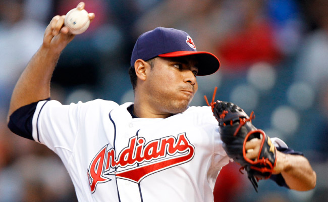 Jeanmar Gomez had a 5.96 ERA in 20 appearances with the Indians in 2012.