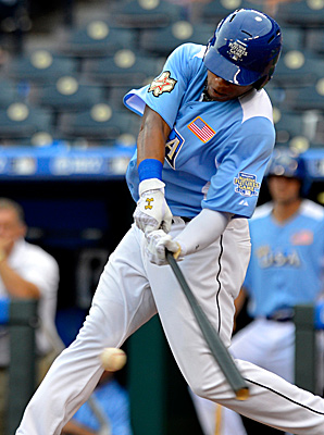 Jonathan Singleton played in last summer's All-Star Futures game in Kansas City, Mo.