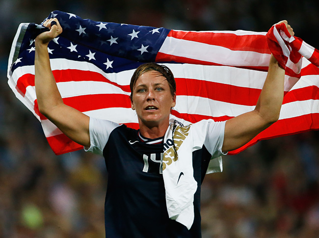 Abby Wambach was the first U.S. winner of the FIFA women's award award since Mia Hamm in 2002.