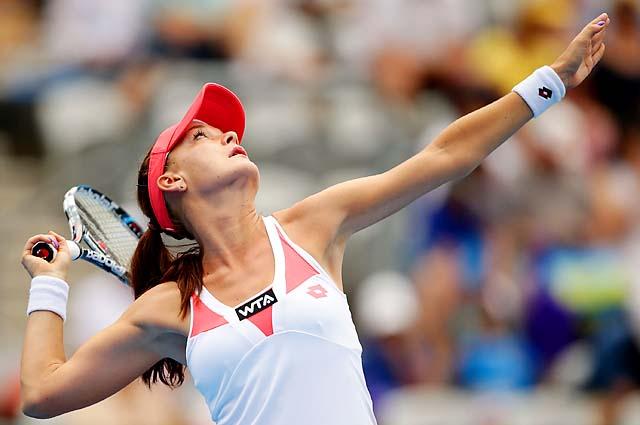 Agnieszka Radwanska will play Dominika Cibulkova in the Sydney final.