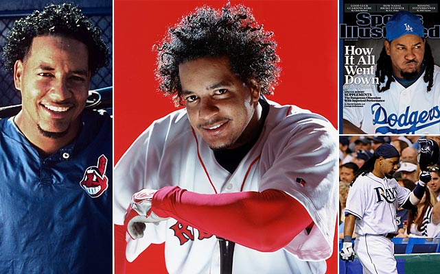 The mercurial star of the Indians, Red Sox and Dodgers, Manny Ramirez was capable of putting up incredible numbers (555 home runs, 1831 RBI, .312 batting average, .996 OPS) while playing the game in his unique way. However, two confirmed positive tests for steroid use under MLB's drug policy will be a lot to overcome.