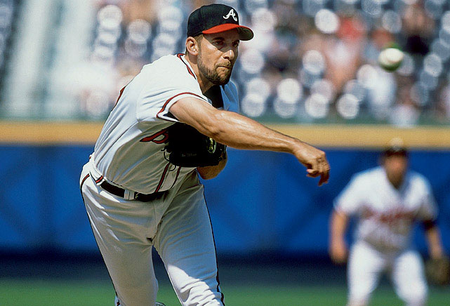 Whether as a starter or a closer, John Smoltz was always extraordinary. He received a Cy Young in 1996 as a starter, winning 24 games and striking out 276 batters with a 2.94 ERA. After Tommy John surgery forced a move to the bullpen, Smoltz broke the National League record for saves with 55 in his first full season as a closer.