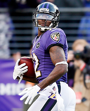 Jacoby Jones made the 2013 Pro Bowl as a kick returner.
