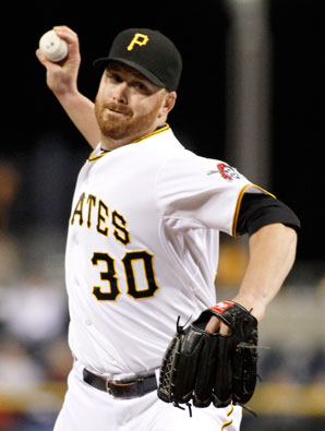 Chris Resop was traded to the A's by the Pirates last November.