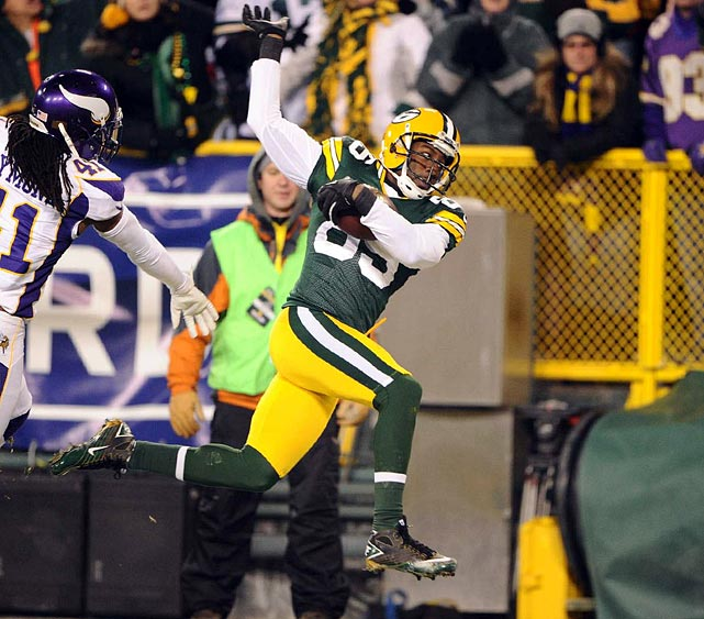 Immortalized as a Packer in a famous YouTube video game clip, Greg Jennings could be changing teams for the first time in his career this off-season. The seven-year veteran missed half the regular season because of an injury but still caught 36 passes in 2012.