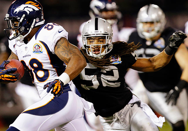 The Oakland defense may have struggled all year long, but linebacker Philip Wheeler should not be blamed for that. In 2012 Wheeler had 109 tackles, three interceptions and two forced fumbles -- all career-highs.