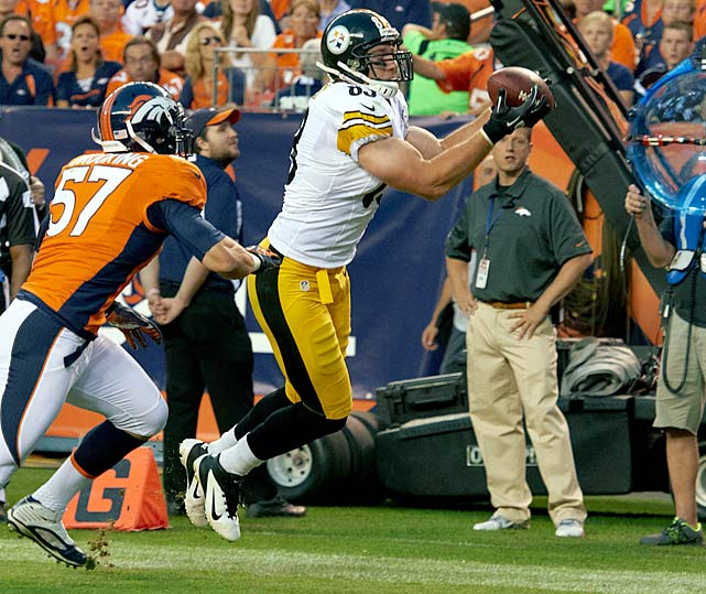 Heath Miller picked a fantastic season to have a career year, setting personal-highs with 816 receiving yards and eight touchdowns. Unfortunately for the Pittsburgh Steelers tight end, he picked a terrible time to tear his ACL with additional damage to his MCL and PCL in Week 16, which means he may not be ready for next season.