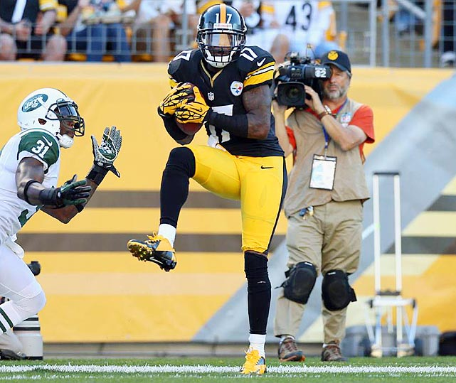 Mike Wallace regressed this season from his huge numbers in 2010 and 2011, posting a career-low in yards per catch and 357 fewer receiving yards than he did last season. Regardless, he is due for a huge raise on his $2.7 million salary this season whether the Pittsburgh Steelers slap him with the franchise tag or not.