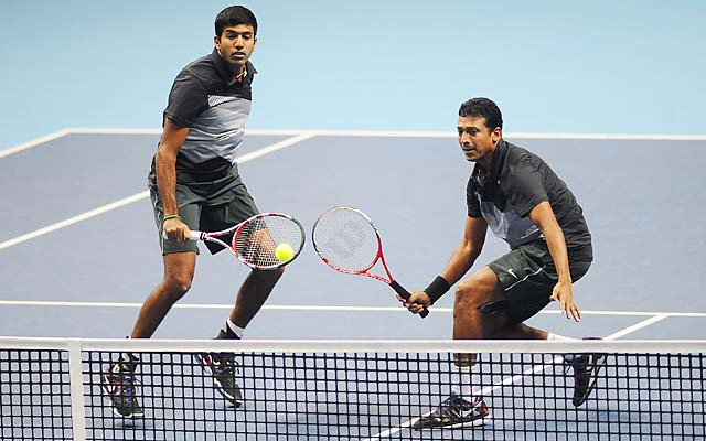 Mahesh Bhupathi and Rohan Bopanna lost in the World Tour Finals doubles championship match.