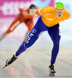 Sven Kramer won the overall speedskating championships in 2007-2010 and again in 2012.