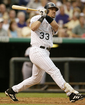 Larry Walker says he was just glad to stay on the Hall of Fame ballot.