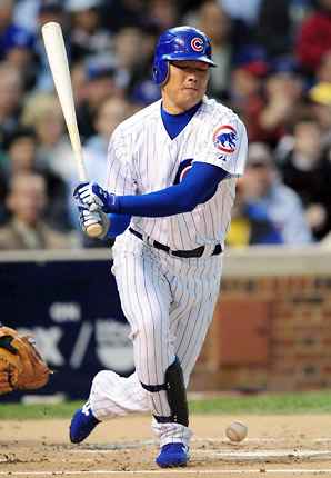 Kosuke Fukudome made the NL All-Star team in 2008 but never quite lived up to expectations in his 3½ seasons with the Cubs.