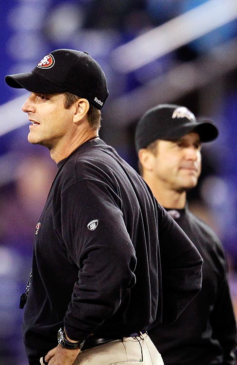 This was my top-ranked potential Super Bowl pairing last year, and we came a couple of narrow conference title-game losses from getting the historic Har-Bowl matchup between John Harbaugh's Ravens and Jim Harbaugh's 49ers. But there's more to it this time around, thanks to Ray Lewis' retirement plans. No. 52 going out on the game's grandest stage would dominate plenty of the pregame buildup.