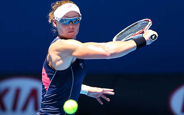 No. 9 Sam Stosur will play Jie Zheng in the second round.
