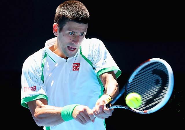 No. 1 Novak Djokovic will face American Ryan Harrison in the second round.