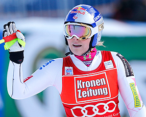 Due to minimal slalom training since her break, Lindsey Vonn will skip the event in Austria,
