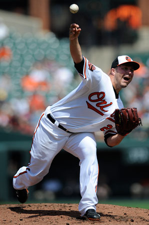 Tommy Hunter helped the Orioles reach the postseason last year for the first time since 1997.