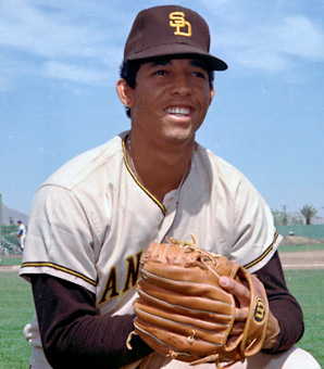 Enzo Hernandez was the San Diego Padres' starting shortstop from 1971-1976.