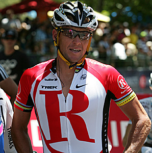 Lance Armstrong rode in the Tour Down Under in 2009, 2010 and 2011.