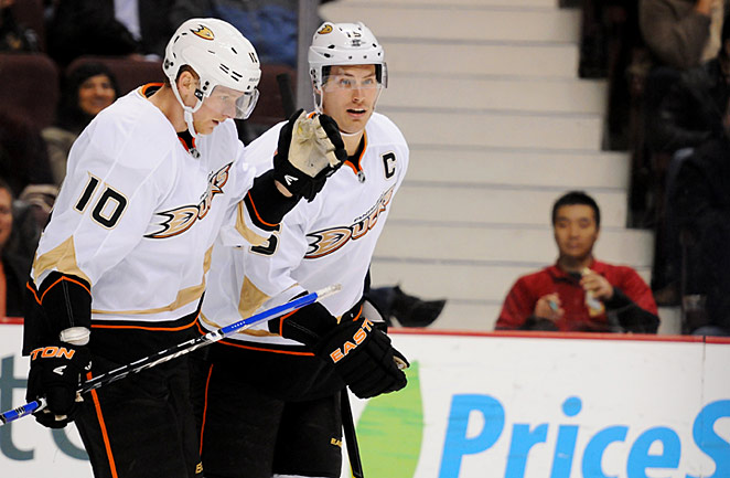 A strong bounce-back season by Corey Perry and Ryan Getzlaf is key to the Ducks' fortunes in 2013.