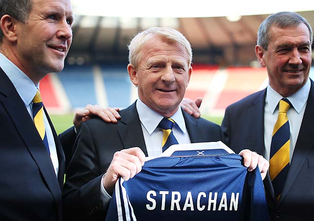Gordon Strachan played for the Scottish national team in the 1980s and 1990s.
