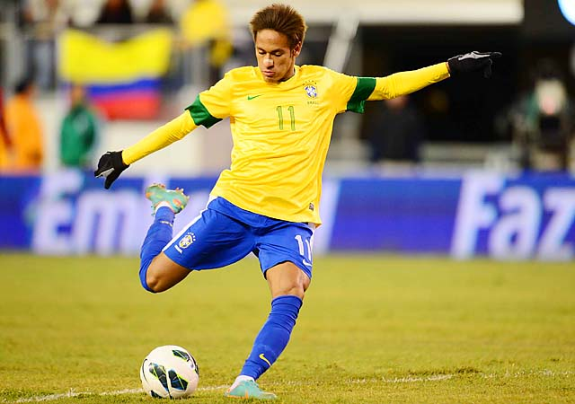Neymar and Brazil hope to adjust quickly under new coach Phil Scolari before the World Cup.